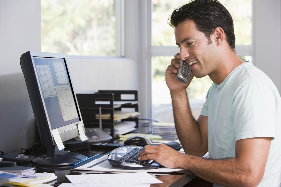 Thuiswerken. hoe werk je gemotiveerd en efficiënt van thuis uit.